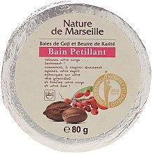 Düfte, Parfümerie und Kosmetik Badebombe mit Acai-Beere und Sheabutter - Nature de Marseille Goji&Shea Butter