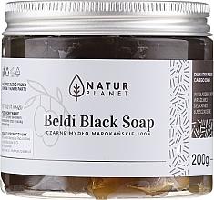 Schwarze marokkanische Seife - Natur Planet Moroccan Beldi Black Soap — Bild N1