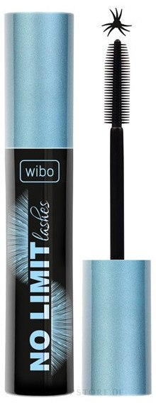 Wimperntusche - Wibo No Limit Lashes Mascara — Bild Black