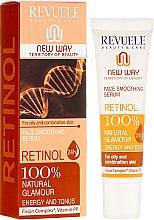 Düfte, Parfümerie und Kosmetik Glättendes und feuchtigkeitsspendendes Gesichtsserum mit Retinol - Revuele Retinol Face Smoothing Serum Moisturise Tone Hydrate Lift Firm Skin