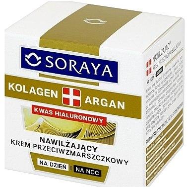 Feuchtigkeitsspendende Anti-Falten Gesichtscreme - Soraya Kolagen i Argan Moisturizing Cream — Bild N1