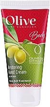Düfte, Parfümerie und Kosmetik Regenerierende Handcreme mit Olivenöl - Frulatte Restoring Hand Cream