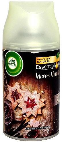 Raumerfrischer Warme Vanille mit essentiellen Ölen - Air Wick Freshmatic Warm Vanilla — Bild N1