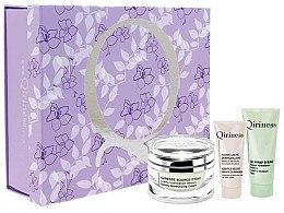 Düfte, Parfümerie und Kosmetik Gesichtspflegeset - Qiriness Moisturizing Set (Gesichtscreme 50ml + Gesichtsbalsam 25ml + Gesichtsreinigungsmilch 20ml)