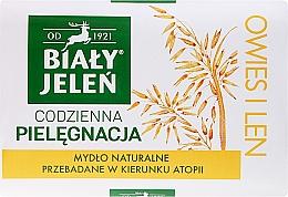 Düfte, Parfümerie und Kosmetik Hypoallergene Naturseife mit Haferextrakt - Bialy Jelen Hypoallergenic Soap Natural Oats
