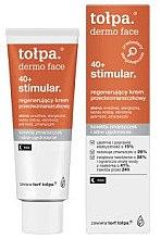 Düfte, Parfümerie und Kosmetik Regenerierende Anti-Falten Nachtcreme 40+ - Tolpa Dermo Face Stimular 40+ Night Cream