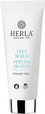 Fußpeeling für trockene Haut - Herla Feet Scrub — Bild N1
