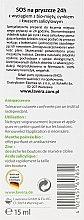 Anti-Pickel Gesichtsgel für unreine Haut mit Bio-Minze - Lavera SOS Spot Gel — Bild N2
