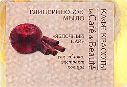Düfte, Parfümerie und Kosmetik Glycerinseife Apple Pie - Le Cafe de Beaute Glycerin Soap
