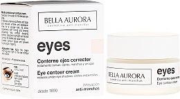 Düfte, Parfümerie und Kosmetik Augenkonturcreme gegen dunkle Ringe - Bella Aurora Eye Contour Cream