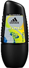 Düfte, Parfümerie und Kosmetik Deo Roll-on Antitranspirant - Adidas Anti-Perspirant Get Ready Cool&Dry 48h