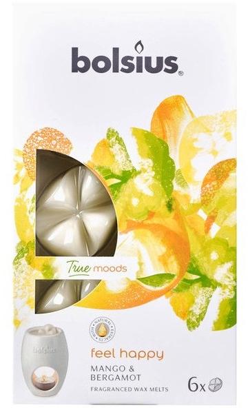 Tart-Duftwachs Mango & Bergamot - Bolsius True Moods Feel Happy Mango & Bergamot Smart Wax System — Bild N1