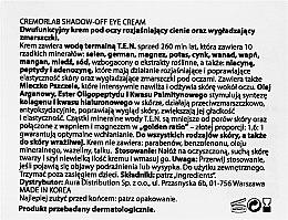 Augenkonturcreme - Cremorlab T.E.N. Cremor Shadow-Off Eye Cream — Bild N3