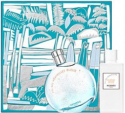 Düfte, Parfümerie und Kosmetik Hermes Eau des Merveilles Bleue - Duftset (Eau de Toilette/100ml +Körperlotion/80ml)