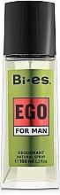 Düfte, Parfümerie und Kosmetik Bi-Es Ego - Parfümiertes Körperspray