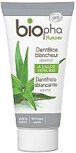 Düfte, Parfümerie und Kosmetik Aufhellende Zahnpasta mit Minze - Biopha Nature Toothpaste Menthe