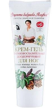 Fußcreme-gel gegen Entzündungen - Rezepte der Oma Agafja — Bild N4