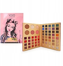 Düfte, Parfümerie und Kosmetik Make-up Palette - Vivo London Complette Collection