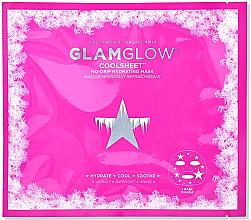 Düfte, Parfümerie und Kosmetik Kühlende Tuchmaske für Gesicht mit Hydragel-Formel - Glamglow Coolsheet No-Drip Hydrating Mask