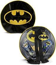 Düfte, Parfümerie und Kosmetik DC Comics Batman - Badeset für Kinder (Badeschaum 100ml + Shampoo 100ml + Badeschwamm + Tasche)