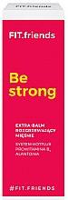 Düfte, Parfümerie und Kosmetik Wärmende Muskelcreme mit Vitamin B5 und Alantoine - AA Fit.Friends Be Strong Extra Balm