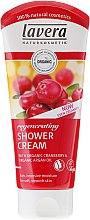 Düfte, Parfümerie und Kosmetik Regenerierendes Duschgel mit Bio-Cranberry und Bio-Arganöl - Lavera Regenerating Cream Oil Shower Gel
