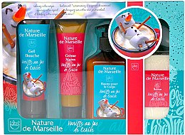 Düfte, Parfümerie und Kosmetik Körperpflegeset - Nature de Marseille Vanilla (Duschgel 100ml + Creme 60ml + Körperbalsam 150ml + Seife 90g)