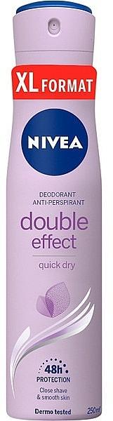 Deospray Antitranspirant - Nivea Doble Effect Deodorant — Bild N1