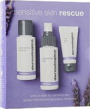 Düfte, Parfümerie und Kosmetik Gesichtspflegeset - Dermalogica Sensitive Skin Rescue (Gesichtsgel 50ml + Spray für das Gesicht 50ml + Gesichtsgel 15ml)