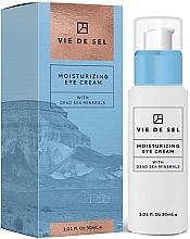 Düfte, Parfümerie und Kosmetik Feuchtigkeitsspendende Augenkonturcreme mit Mineralien aus dem Toten Meer - Vie De Sel Moisturizing Eye Cream