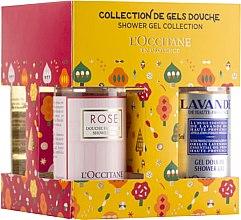 Düfte, Parfümerie und Kosmetik Körperpflegeset - L'Occitane Shower Gel Quattro (Duschgel 4x75ml)