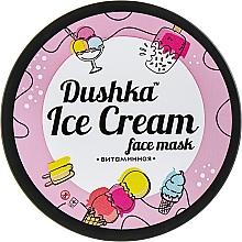Düfte, Parfümerie und Kosmetik Gesichtsmaske mit Vitaminen und Jojoba - Dushka Ice Cream Mask