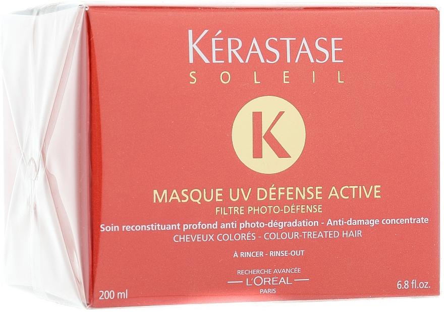 Intensiv schützende Haarmaske zum Ausspülen mit UV-Filter - Kerastase Masque UV Defense Active — Bild N1