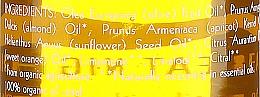 Pflegendes Öl zum Abschminken mit Mandeln und Orangen - Uoga Uoga Natural Nourishing Oil — Bild N3