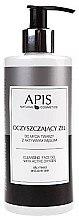 Düfte, Parfümerie und Kosmetik Gesichtsreinigungsgel mit Aktivkohle - APIS Professional Cleansing Gel
