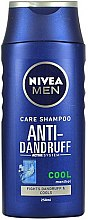 "Düfte, Parfümerie und Kosmetik Anti-Schuppen Shampoo ""Repair & Care"" - Nivea Men Anti-Dandruff Cool Shampoo"