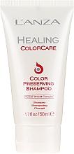 Düfte, Parfümerie und Kosmetik Shampoo für das Haar - L'Anza Healing ColorCare Color-Preserving Shampoo (Mini)
