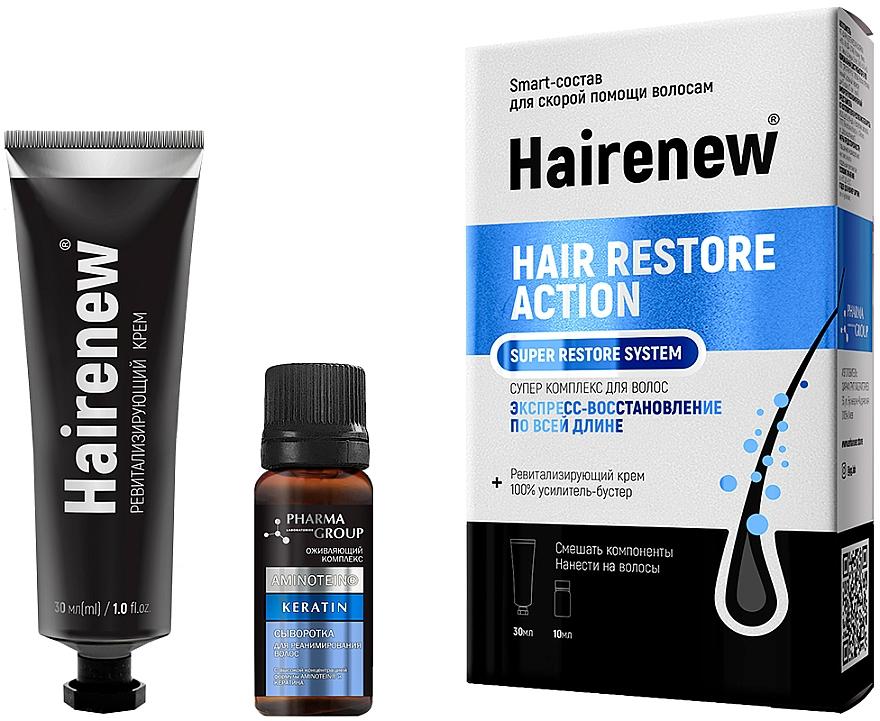 Intensiv regenerierender innovativer Komplex für das Haar - Hairenew Hair Restore Action Super Restore System — Bild N2
