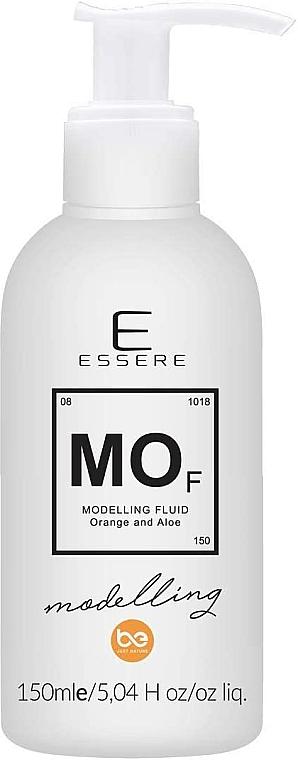 Modellierendes Haarfluid Aloe & Orange - Essere Modelling Hair Fluid Orange & Aloe — Bild N1