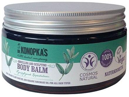 Modellierender Körperbalsam mit Bio Ölen - Dr. Konopka's Modelling And Sculpting Body Balm — Bild N1