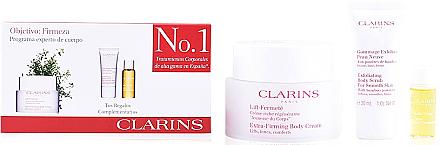 Set - Clarins Lift Fermete (cr/200ml + b/scrub/30ml + b/oil/10ml) — Bild N1