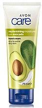 Düfte, Parfümerie und Kosmetik Feuchtigkeitsspendende Handcreme für trockene Haut mit Avocado - Avon Care Replenishing Moisture With Avocado