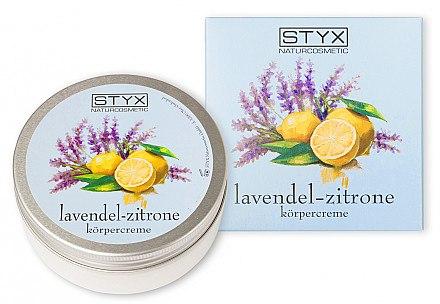 Körpercreme mit Lavendel und Zitrone - Styx Naturcosmetic Lavender Lemon Body Cream — Bild N1