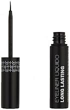 Düfte, Parfümerie und Kosmetik Wasserfester langanhaltender flüssiger Eyeliner - Rougj+ Glamtech Waterproof Long-Lasting Liquid Eyeliner