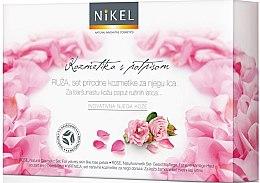 Düfte, Parfümerie und Kosmetik Gesichtspflegeset - Nikel Rose (Gesichtscreme/50ml + Gesichtscreme/50ml + Gesichtsöl/10ml + Gesichtstonikum/30ml)