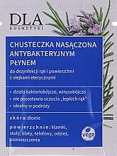 Düfte, Parfümerie und Kosmetik Antibakterielle Reinigungstücher - DLA