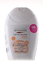 Düfte, Parfümerie und Kosmetik Duschgel Caresse & Plaisir Duo-Pack - Byphasse Shower Gel (Duschcreme Orangenblüte und Mandelmilch 500ml + Duschgel weißer Tee 500ml)