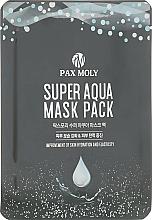 Düfte, Parfümerie und Kosmetik Tuchmaske für das Gesicht mit Meerwassermineralien - Pax Moly Super Aqua Mask Pack