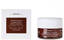 Düfte, Parfümerie und Kosmetik Straffende Antifalten Tagescreme - Korres Castanea Arcadia Antiwrinkle&Firming Day Cream For Dry and Very Dry Skin