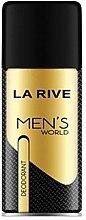 Düfte, Parfümerie und Kosmetik La Rive Men's World - Deospray